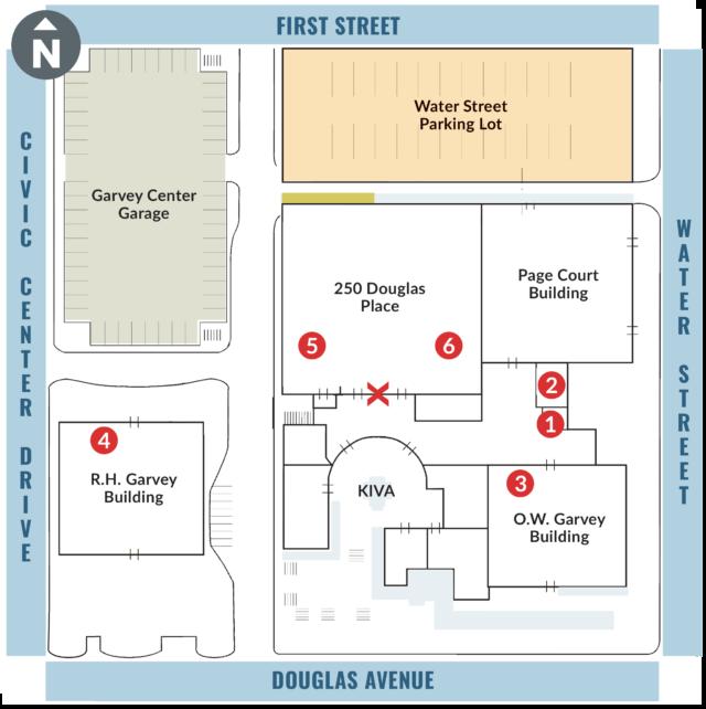 Garvey Center Banquet Room / Conference Room Parking