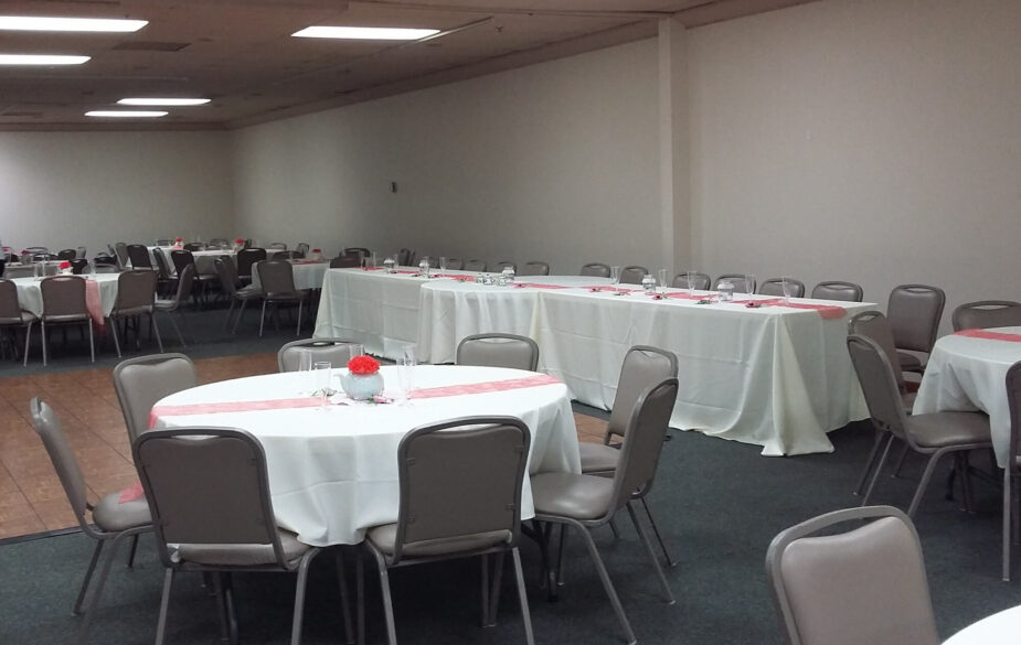 Garvey Center's affordable Wichita wedding venue offers space for up to 200 guests & is one of the few locations in Wichita to allow open catering & alcohol.