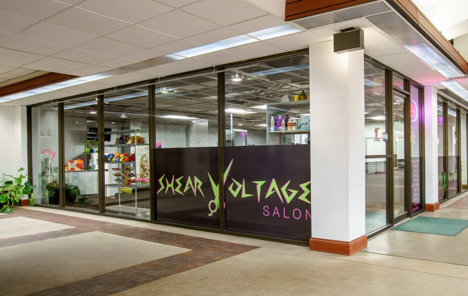 Within Garvey Center's 600,000 square feet of commercial and residential space, our unique office park serves as retail space for two hair salons and one of the few shoe shine services left in Wichita.