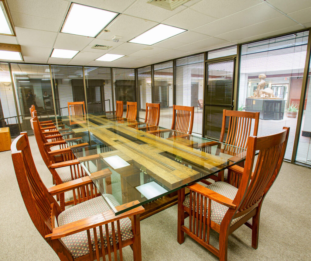 In addition to our Forum and Mediterranean Rooms rentals available for corporate events, Garvey Center provides four conference rooms with seating for 8-40 people available to our tenants at no charge.