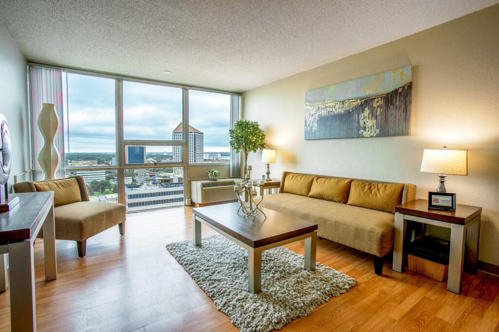 Downtown Wichita apartments offer exceptional amenities at an affordable price.