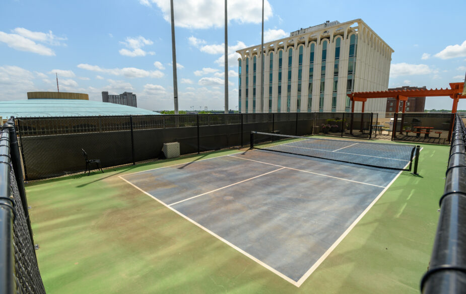 250 place pickleball court